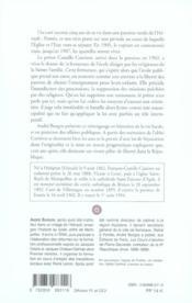 Un cure dans la tourmente - 4ème de couverture - Format classique