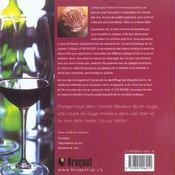 Vin Rouge - 4ème de couverture - Format classique