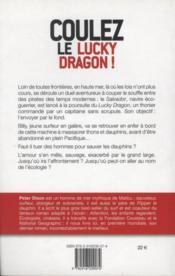 Coulez le lucky dragon ! - 4ème de couverture - Format classique