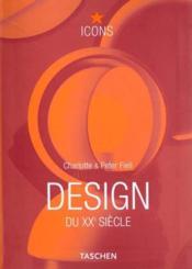 Design du XX siècle - Couverture - Format classique