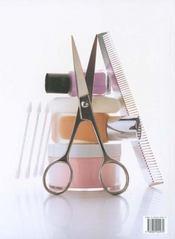 Soins Des Cheveux Et Maquillage - 4ème de couverture - Format classique
