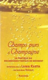 Champs Purs Et Champagne - Couverture - Format classique