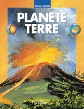 Atlas junior planète terre - Couverture - Format classique