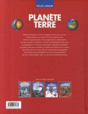Atlas junior planète terre - 4ème de couverture - Format classique