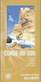 Corse du sud ; Ajaccio, Propriano, Sartène, Bonifacio, Porto-Vecchio - Couverture - Format classique
