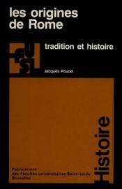 Les Origines De Rome - Couverture - Format classique