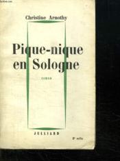 Pique Nique En Sologne. - Couverture - Format classique