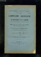 Faculte De Medecine Et De Pharmacie De Bordeaux N° 52 Annee 1903 - 1904. L Ophtalmie Granuleuse Dansle Departement De La Gironde. - Couverture - Format classique