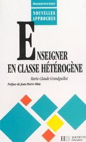Enseigner en classe heterogene - Intérieur - Format classique