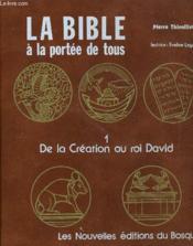 LA BIBLE A LA PORTEE DE TOUS - 4 Coffrets - Couverture - Format classique