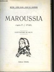 Maroussia - Couverture - Format classique