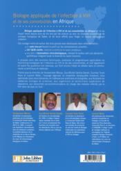 Biologie appliquée ; de l'infection à VIH et de ses comorbidités en Afrique - 4ème de couverture - Format classique