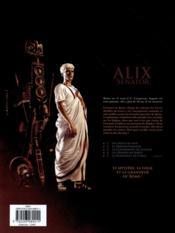 Alix senator T.4 ; les démons de Sparte - 4ème de couverture - Format classique