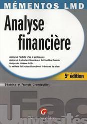 Analyse financière - Intérieur - Format classique