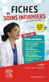 Fiches de soins infirmiers ; ESI et IDE (6e édition) - Couverture - Format classique