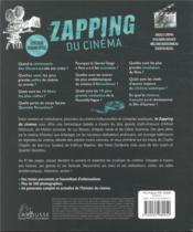 Le zapping du cinéma - 4ème de couverture - Format classique