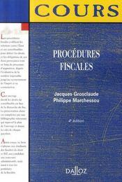Procedures Fiscales (4e Edition) - Intérieur - Format classique