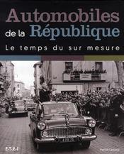 Automobiles de la république, le temps du sur mesure - Intérieur - Format classique