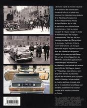 Automobiles de la république, le temps du sur mesure - 4ème de couverture - Format classique