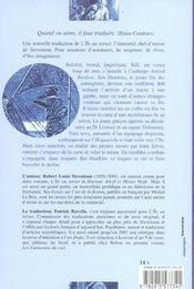 L'ile au tresor - 4ème de couverture - Format classique
