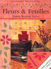 Pochoirs Decoratifs, Fleurs Et Feuilles - Intérieur - Format classique