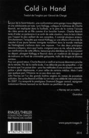Cold in hand - 4ème de couverture - Format classique