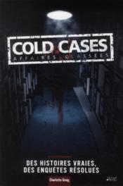 Cold case (edition 2011) - Couverture - Format classique