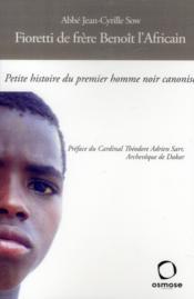 Saint Benoît l'africain franciscain - Couverture - Format classique