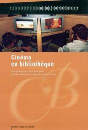 Cinèma et bibliothèque - Couverture - Format classique