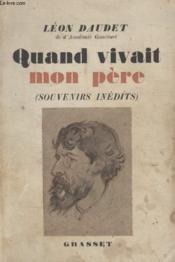 Quand Vivait Mon Pere. - Couverture - Format classique