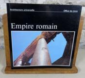 Empire romain. - Couverture - Format classique