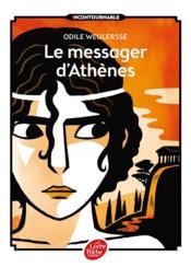 Le messager d'Athènes - Couverture - Format classique
