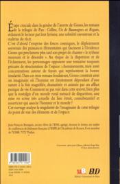 Paysages de pan chez jean giono - 4ème de couverture - Format classique