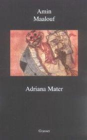 Adriana Mater - Intérieur - Format classique
