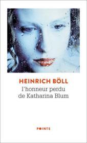 L'honneur perdu de Katharina Blum - Couverture - Format classique