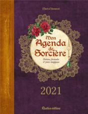 Mon agenda de sorcière (édition 2021) - Couverture - Format classique