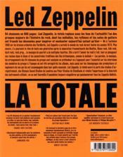 La totale ; Led Zeppelin ; les 94 chansons expliquées - 4ème de couverture - Format classique