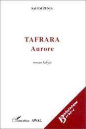 Tafrara aurore - Couverture - Format classique