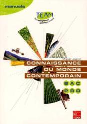 Connaissance du monde contemporain bac pro mg5 - Couverture - Format classique