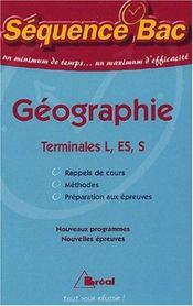Geographie terminale - Intérieur - Format classique