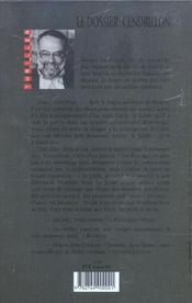 Le dossier cendrillon - 4ème de couverture - Format classique