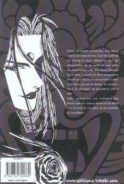 Le sabre du démon t.1 - 4ème de couverture - Format classique