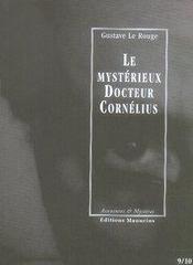 Le mystérieux docteur Cornélius t.9 et t.10 - Intérieur - Format classique