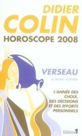 Horoscope 2008 ; Verseau - Couverture - Format classique