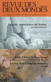 Revue des deux mondes mars 2007 - Couverture - Format classique