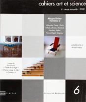 Cahiers art et science t.6 - Couverture - Format classique
