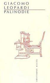 Palinodie - Couverture - Format classique