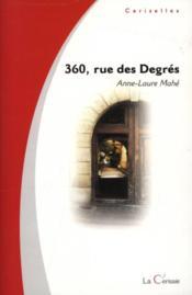 360, Rue Des Degres - Couverture - Format classique