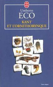 Kant et l'ornithorinque - Intérieur - Format classique