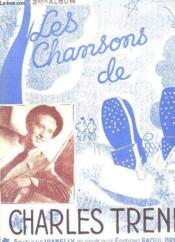 LES CHANSONS DE CHARLES TRENET. 2em ALBUM. - Couverture - Format classique